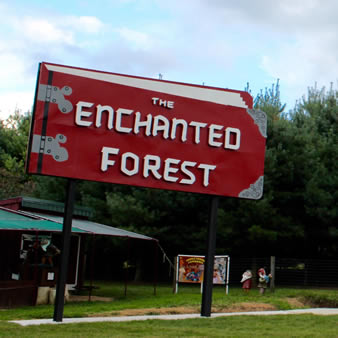 Enchanted Forest Sign