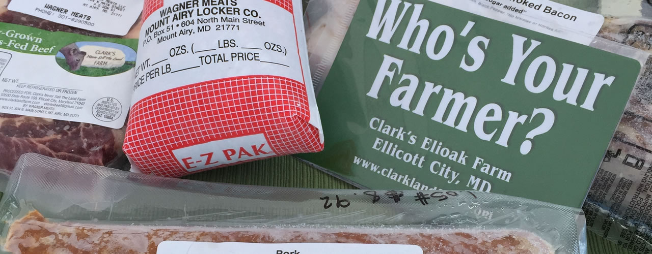 Meat Packs available in-store on Clarks Farm