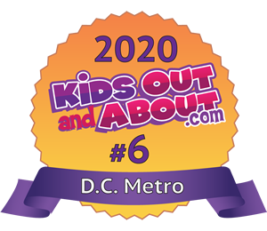 Voted #5 best thing to do for kids in DC